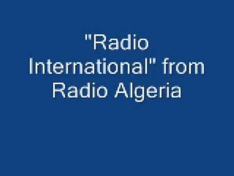 """Radio International"" from the Radio Algeria comp"