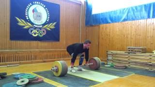 Клоков Дмитрий  толчок кл. 232,5 кг.