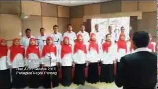Video Koir PKD Bera - Lagu Negeri Pahang Darul Makmur download MP3, 3GP, MP4, WEBM, AVI, FLV Maret 2018