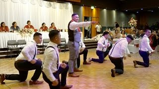 Groom's surprise dance for his Bride - Amby & Witness Wedding Celebration
