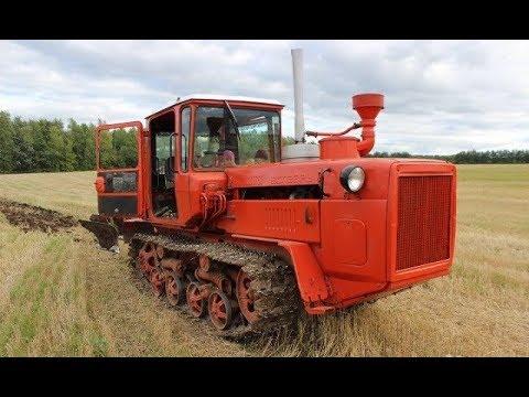 Трактор ДТ-175 с