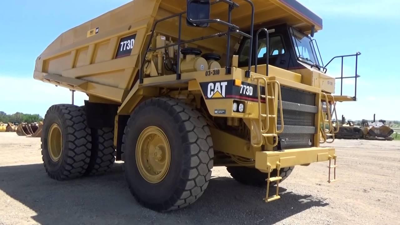 Cat Certified 773D Powertrain Rebuild Time-Lapse