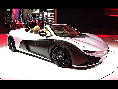 Qiantu Motor K50 Roadster Concept Launched On The Beijing Auto Show
