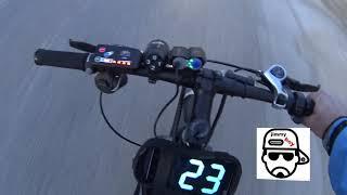 ηλεκτρικο ποδηλατο τελικη ταχυτητα