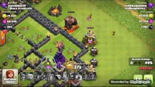 Clash of Clans / last leg of the masters push