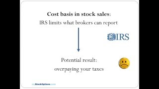 tax return reporting of company stock sales how to avoid overpaying taxes