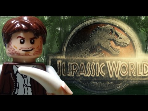 Lego Jurassic World Trailer 2015