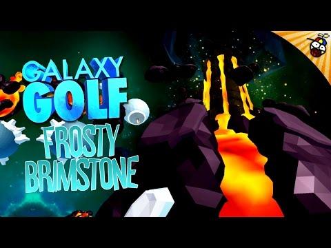 GOLF IN SPACE! Galaxy Golf #2 Frosty Brimstone - HTC Vive