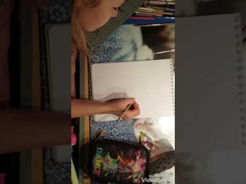 Ich male das 1. Bild für Art TV😘