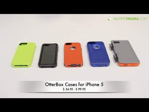 sale retailer e5108 e8472 Review of all 5 OtterBox Cases for iPhone 5S & iPhone 5 - Armor, Defender,  Commuter, Reflex & Prefix