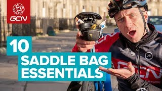 10 Saddle Bag Essentials To Take On Every Bike Ride