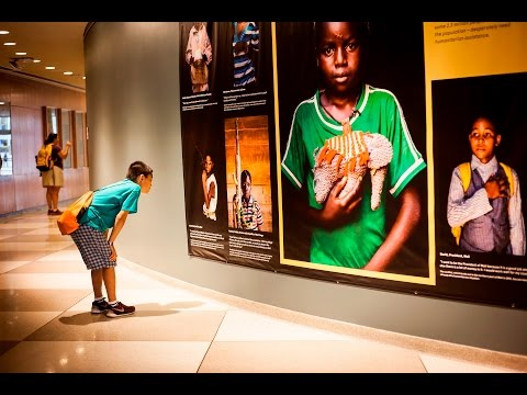 When I Grow Up - Photo Exhibit at UN Headquarters in New Yor