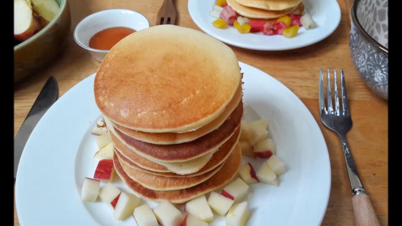 CÁCH LÀM BÁNH RÁN BẤT BẠI (Không bột nở) – NOFAIL PANCAKE (no baking powder)