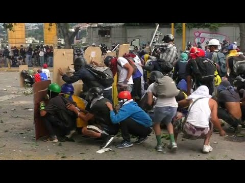 venezuela general strike called as protests mount