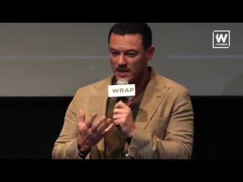 "Luke Evans & Dakota Fanning at The Wrap's ""Emmy Screening: Outstanding Limited Series"""