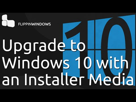 Upgrade to Windows 10 with a Disc or USB