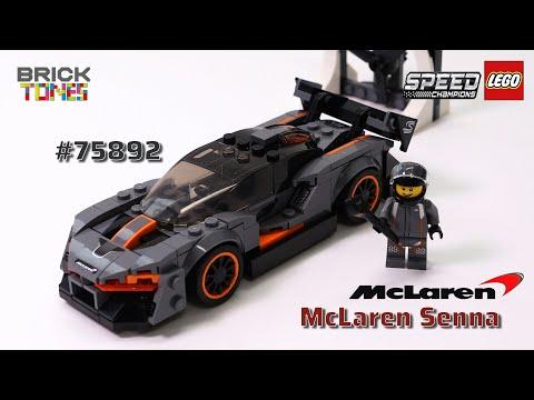 LEGO McLaren Senna 75892 - Speedbuild & Review