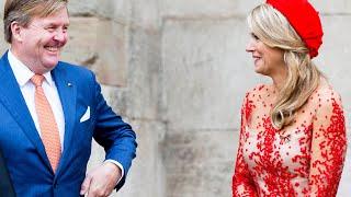 Koning Willem-Alexander en koningin Máxima in Trier