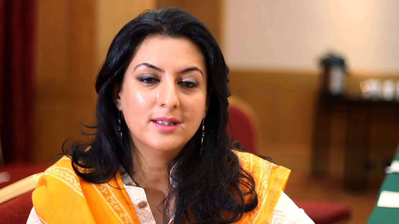 Alizeh Iqbal Haider Pakistani female politician