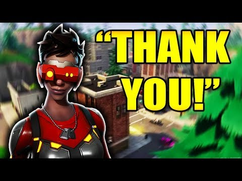 FREE WIN FOR RANDOM DUO!!! (17 Kill Duos Fortnite Battle Royale Gameplay)
