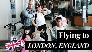 Filipino - Canadian Family Travels to London, England | Travelling wit