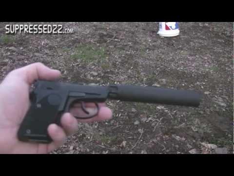 Beretta Bobcat - Suppressed