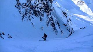 Ski Mountaineering in the Contamines Valley, French Alps