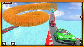 Ultimate racing derby sports car stunts 3d gameplay #7