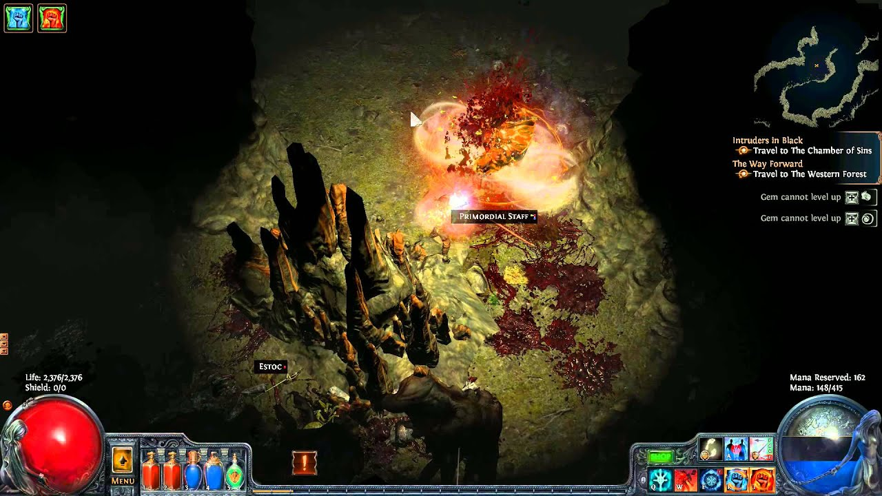 path of exile  the great white beast quest walkthrough