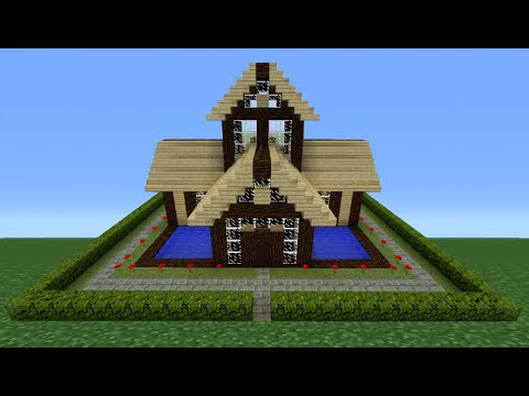 Minecraft Tutorial: How To Make A Wooden House - 8