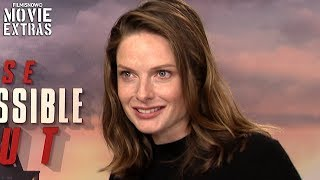 MISSION: IMPOSSIBLE FALLOUT | Rebecca Ferguson talks about her experience making the movie