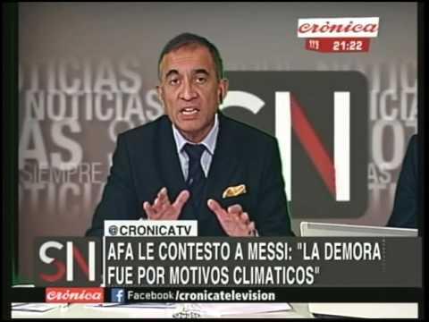 Lionel Messi se enojó y arremetió contra la AFA