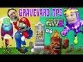 FGTEEV Mario & Chase play GRAVEYARD OPS w/ GIGA Torchwood & Super Bean (PVZ Garden Warfare 2 #6)