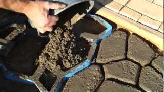 How To Make Concrete Paving Stones