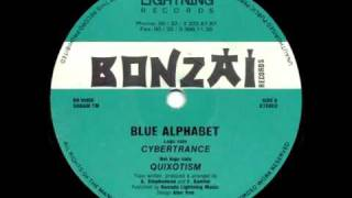 Blue Alphabet - Cibertrance
