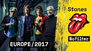 Stones - No Filter - European Tour 2017