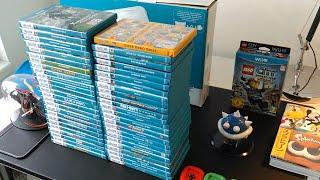 My Nintendo Wii U Collection - Year 2015