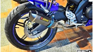 YAMAHA : Akrapovic EXHAUST For YZF-R15