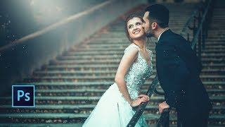 Photoshop cc Tutorial: Wedding photo editing in Photoshop