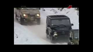 Тест Jeep Wrangler Rubicon,Mercedes G-Class,Tarpan Honker