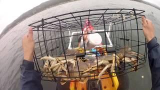 Half Moon Bay Kayak Crabbing - 1st experience