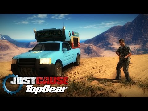 Just Cause Top Gear 2 | episode 1 | Top Gear parody made in Just Cause 2 |
