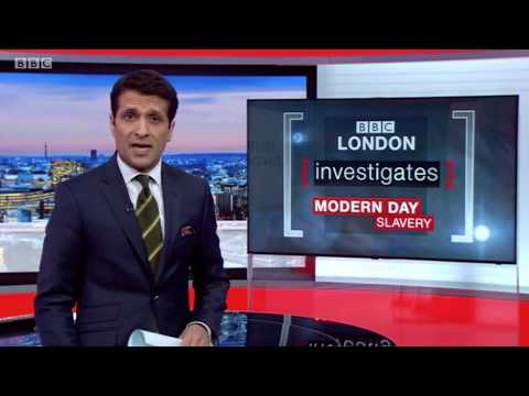 BBC London News - Modern Day Slavery