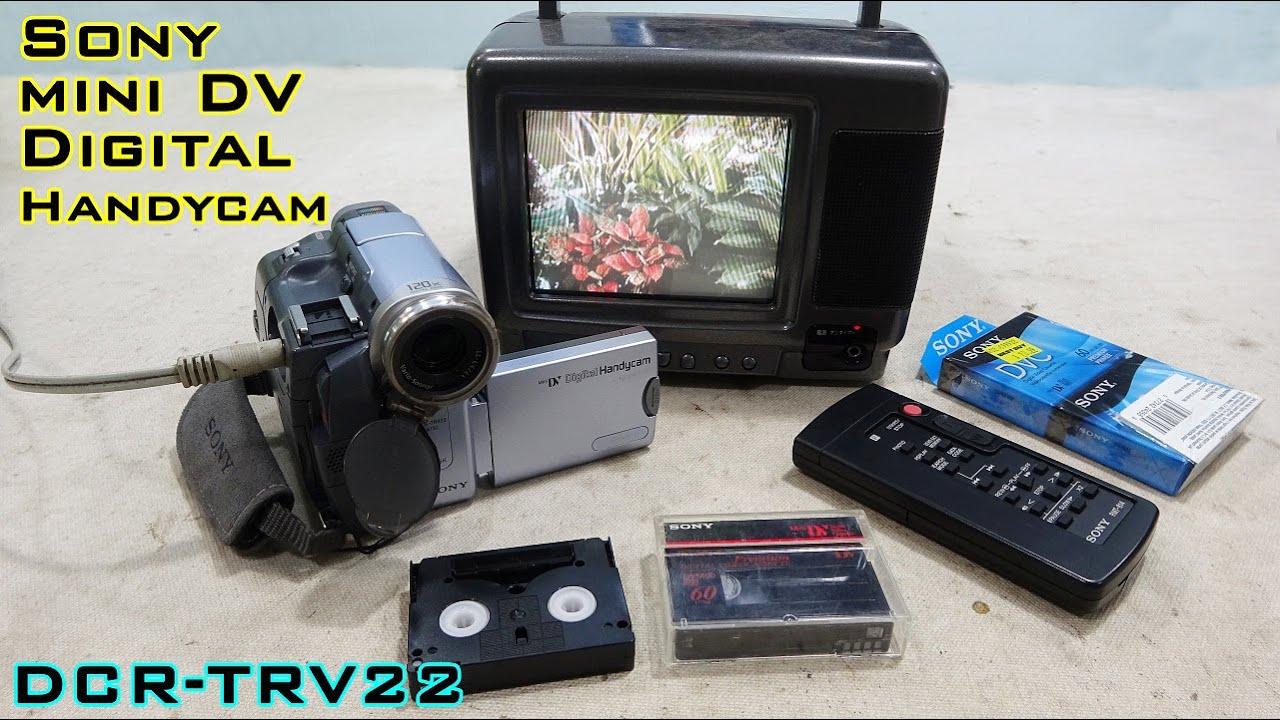 Sony mini DV Digital Handycam DCR-TRV22