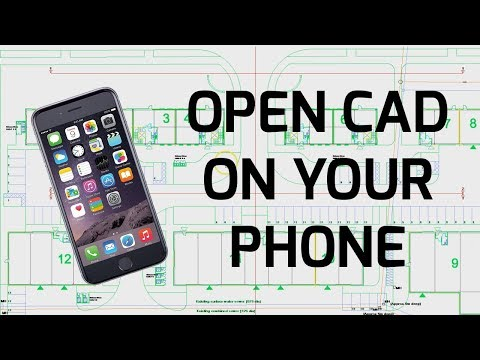 View CAD On Your Phone FREE - DWG DXF AutoCAD