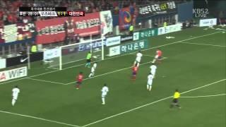 Товарищеский матч Корея-Узбекистан 2-тайм