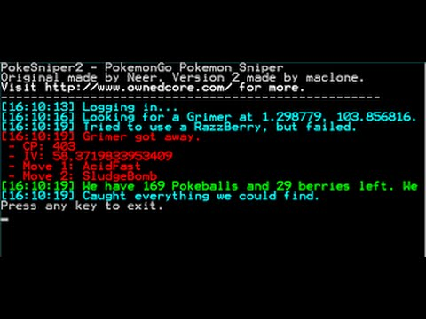 Hack Pokemon GO SNIPER (POKESNIPER) (PC)