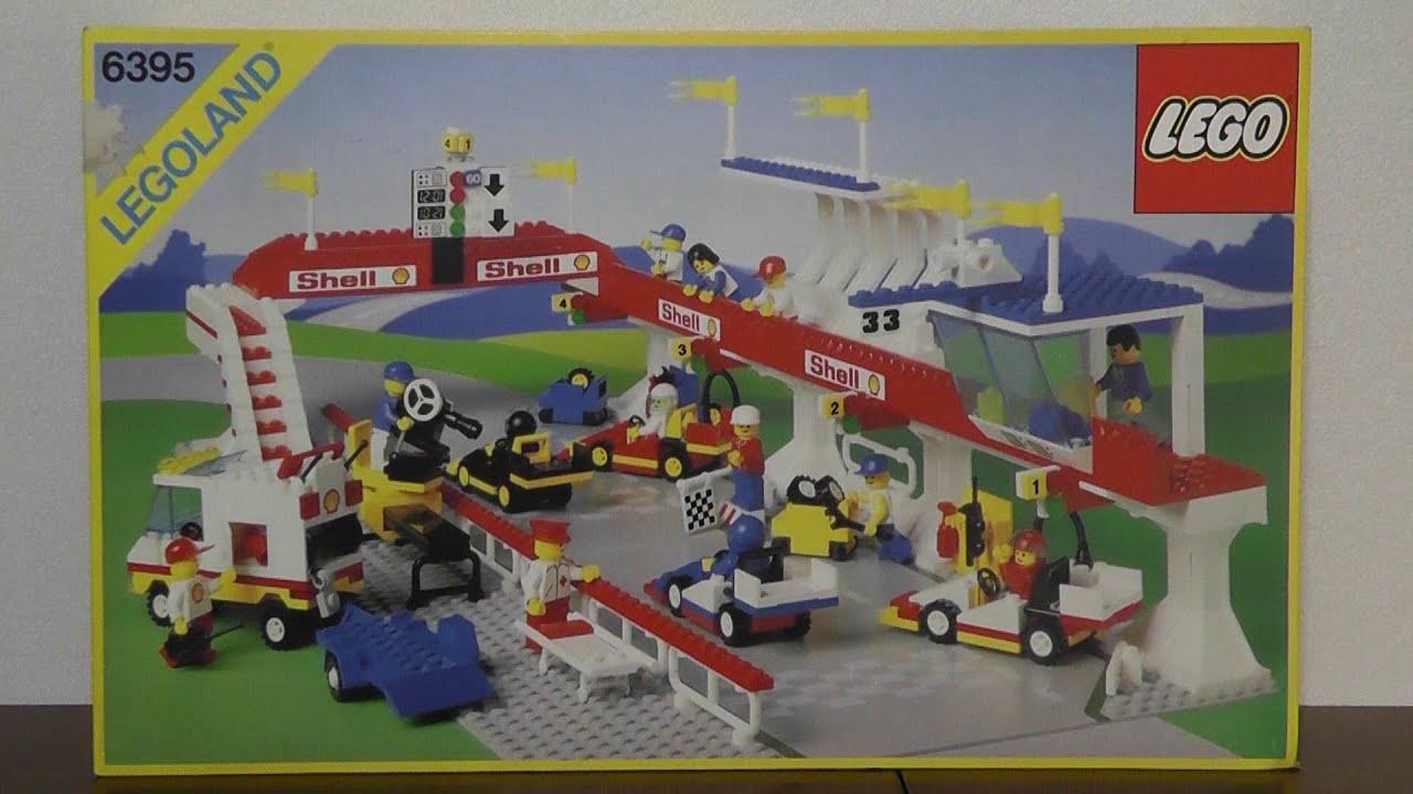 LEGO Legoland 6395 Victory Lap Raceway 1988