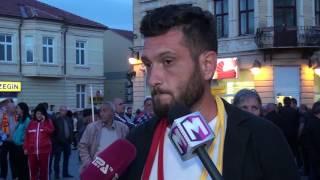 Tv Tera Bitola Za Zaednicka Makedonija od Bitola trgnaa za Skopje 27 04 2017