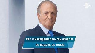 """La Casa Real informó que el rey Juan Carlos anunció su decisión ante la repercusión pública de """"ciertos acontecimientos pasados"""" de su vida privada; es investigado por presunta corrupción"""